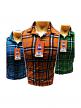 Mens Check Cotton Shirt for Wholesale