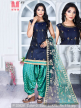 Stylish Patiyala Suits With Net Dupatta