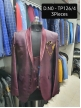 Mens 3pc Embroidery Blazers