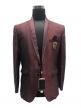 2 Pcs Coat Pant Suits for Men