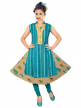 Grils Embroidered Kurti for Wholesale
