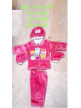 Manufacturer Soft Wollen Pink Suit for Kids
