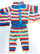 Wholesale Kids Printed Wollen Suits