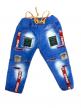 Kids denim joggers jeans