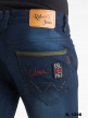 Branded Knitting polo fit Jeans