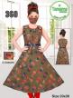 Buy Girls Designer Printed Kurti Set Lace