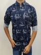 Mens Casual Daily Wear Printed Shirt