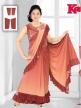 Ladies Half Saree Style Gown