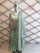 Embroidered Suits with Net Dupatta