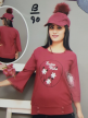 Branded Women Tops with Round Neck