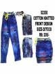 Cotton knitted jeans for boys