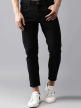 Mens Satin Jeans with Slim Narrow