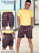 Branded Online Checked Shorts for Gents