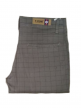 Mens Check Cotton Satin Trousers